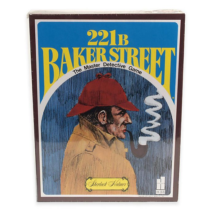 221B Baker Street The Master Detective Game | Bed Bath & Beyond