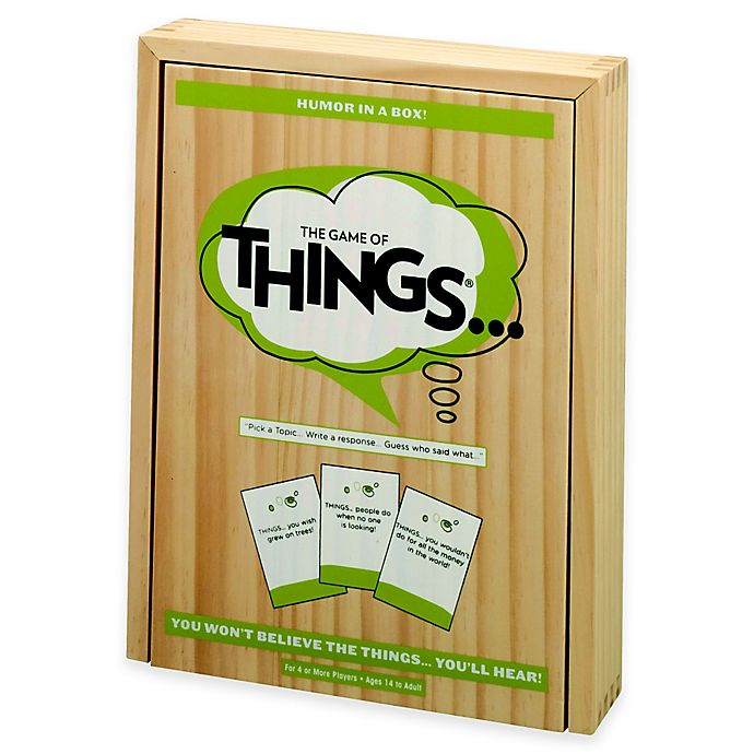 Alternate image 1 for The Game of Things