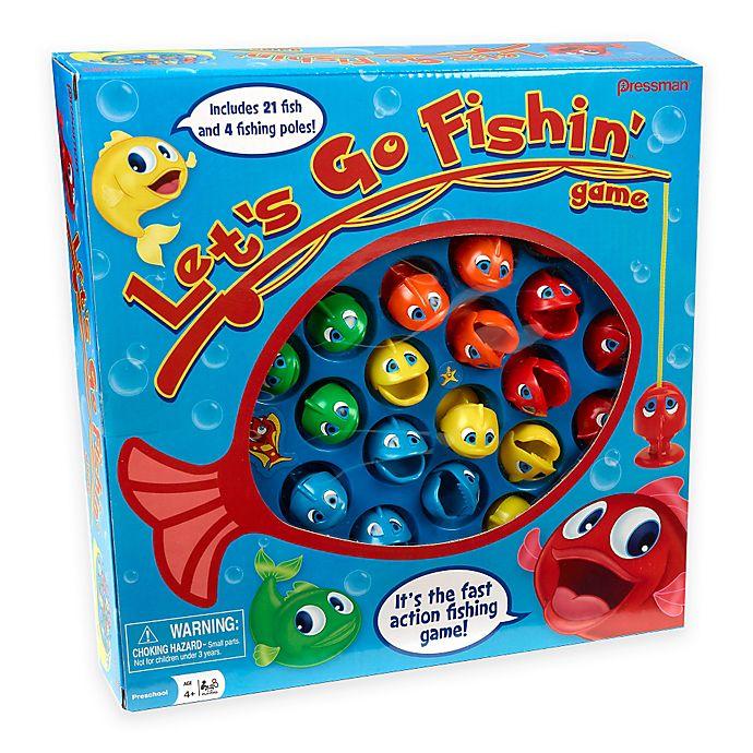 Alternate image 1 for Let's Go Fishin' Game