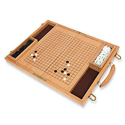 Deluxe Wood Go Game Set