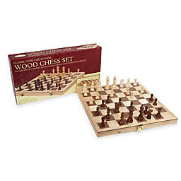 Deluxe 10.5-Inch Folding Chess Set
