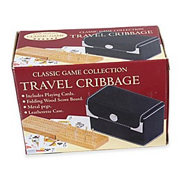 Travel Cribbage Game with Playing Cards