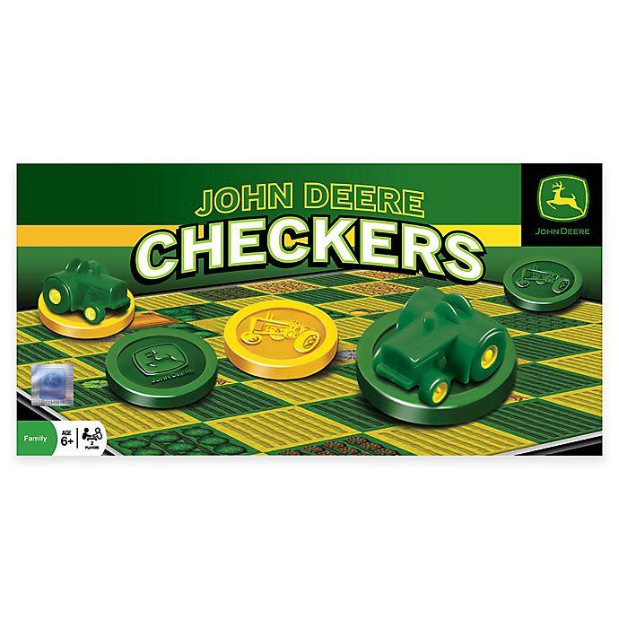 Alternate image 1 for John Deere Checkers