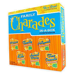 Family Charades in a Box Compendium Party Game