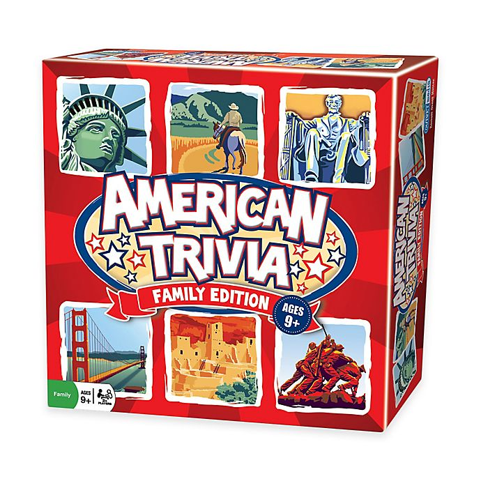 Alternate image 1 for American Trivia - Family Edition Game
