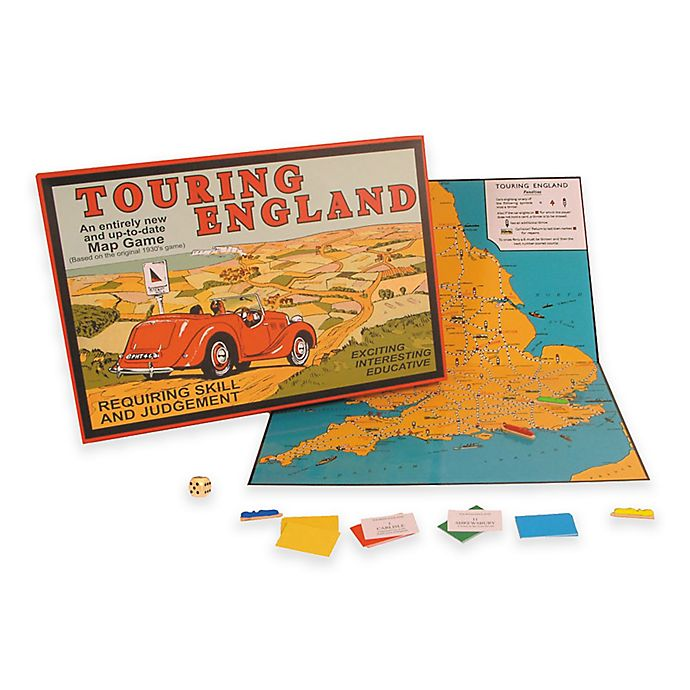 Alternate image 1 for Touring England Game