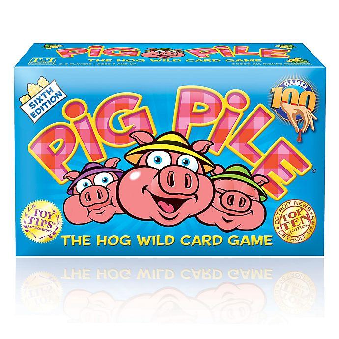 Alternate image 1 for Pig Pile: The Hog Wild Card Game