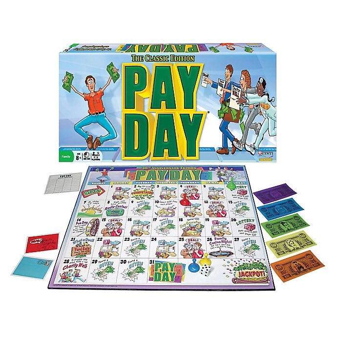 Alternate image 1 for Pay Day Game