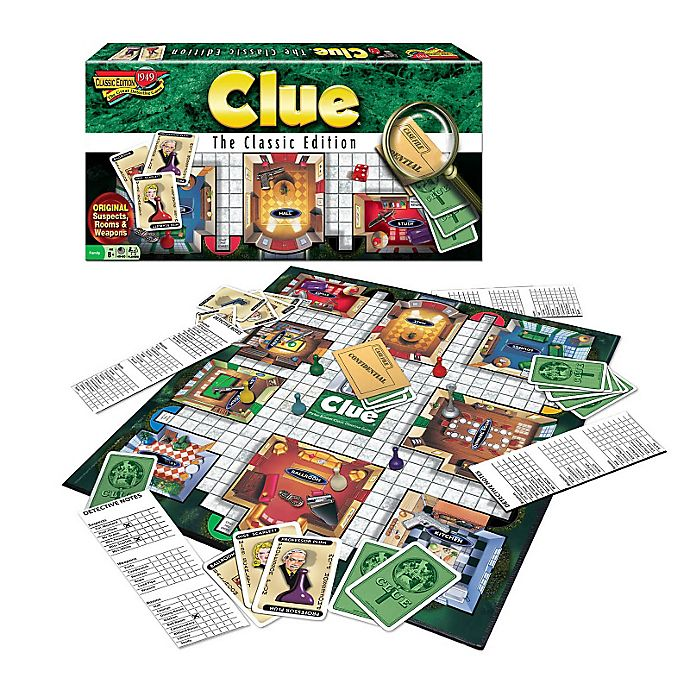 Alternate image 1 for Clue Classic Edition Game
