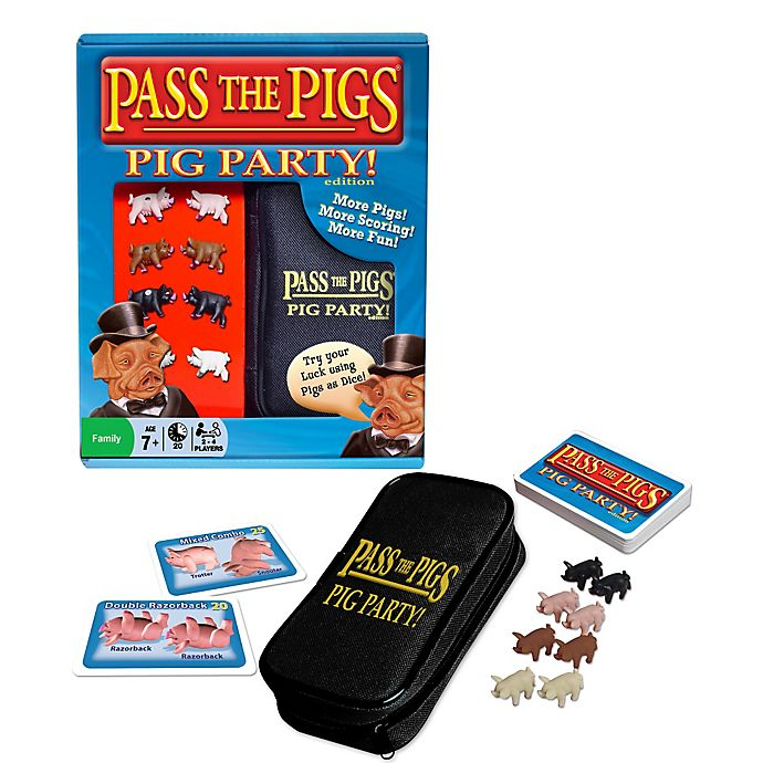 Alternate image 1 for Pass the Pigs: Pig Party Edition Game