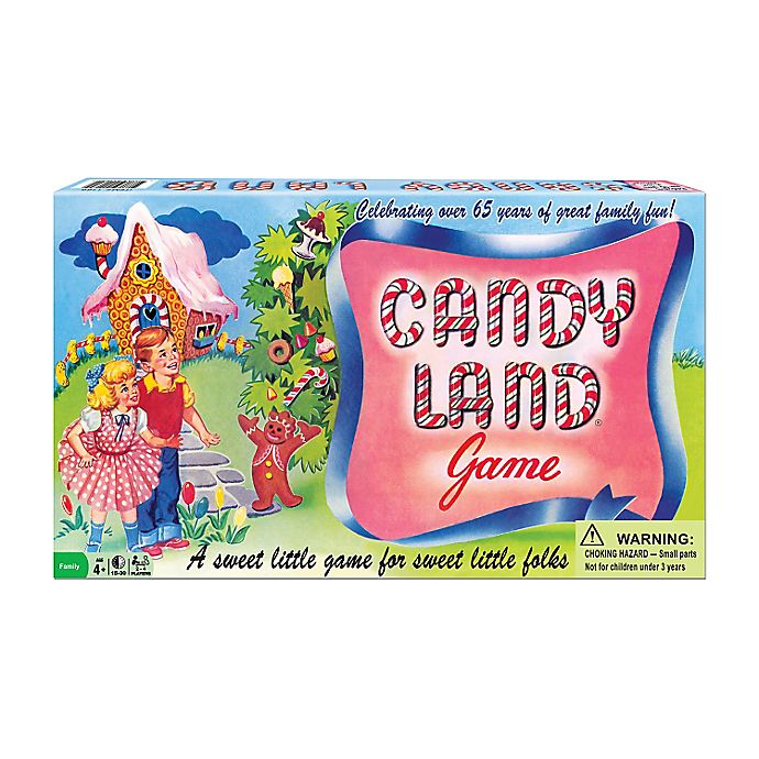 Alternate image 1 for Candy Land 65th Anniversary Game