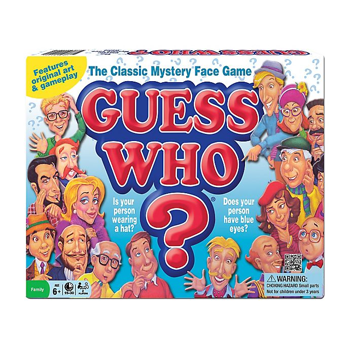 Alternate image 1 for Guess Who? Game