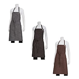 Chef Works® Corvallis Crosshatch Bib Apron
