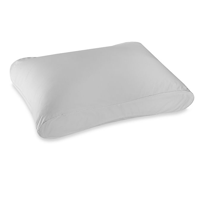 Alternate image 1 for Therapedic® Dacron® Memorelle® Fiber Side Sleeper Pillow in White