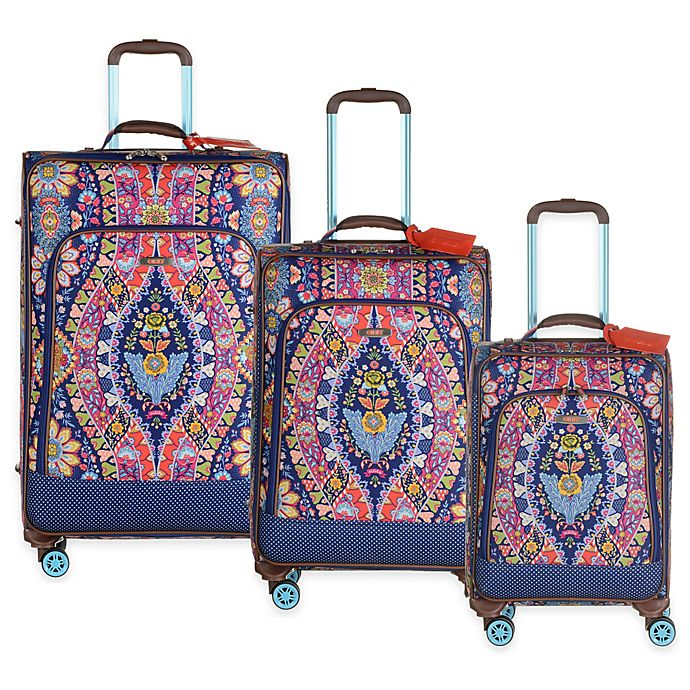Oilily® Travel Expandable Softshell Trolley Suitcase   Bed Bath   Beyond b17ac9c1aa