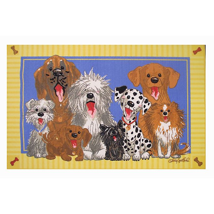 Dog On The Rug: Buy Fun Rugs™ The Dogs Of Duckport Accent Rug From Bed
