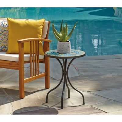Round Mosaic Side Table Bed Bath Amp Beyond