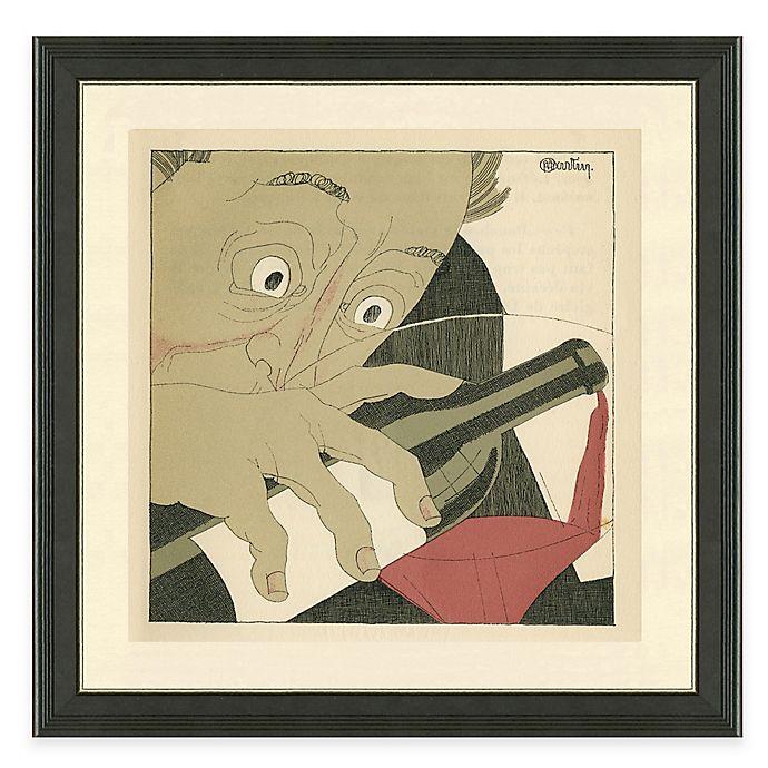 Alternate image 1 for Framed Giclée Wine Guys II Print Wall Art