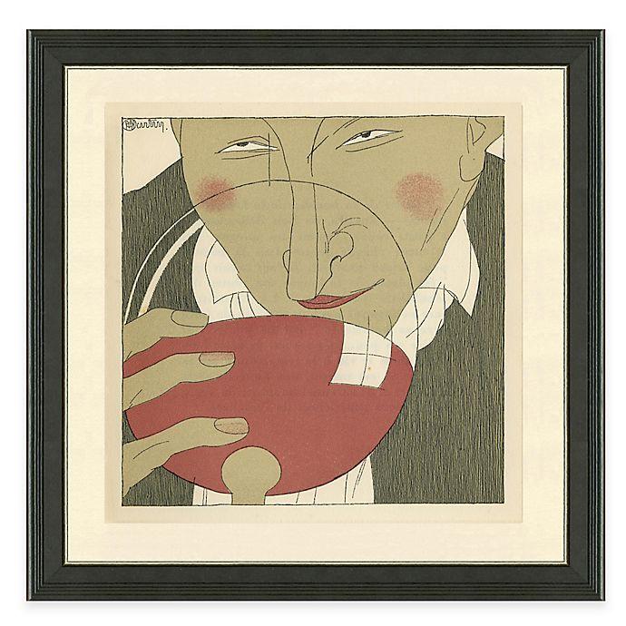 Alternate image 1 for Framed Giclée Wine Guys III Print Wall Art