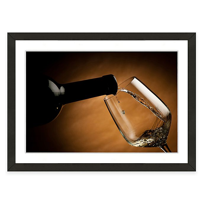 Alternate image 1 for Framed Giclée Wine and Glass Print I Wall Art
