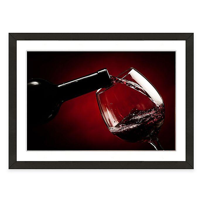 Alternate image 1 for Framed Giclée Wine and Glass Print II Wall Art