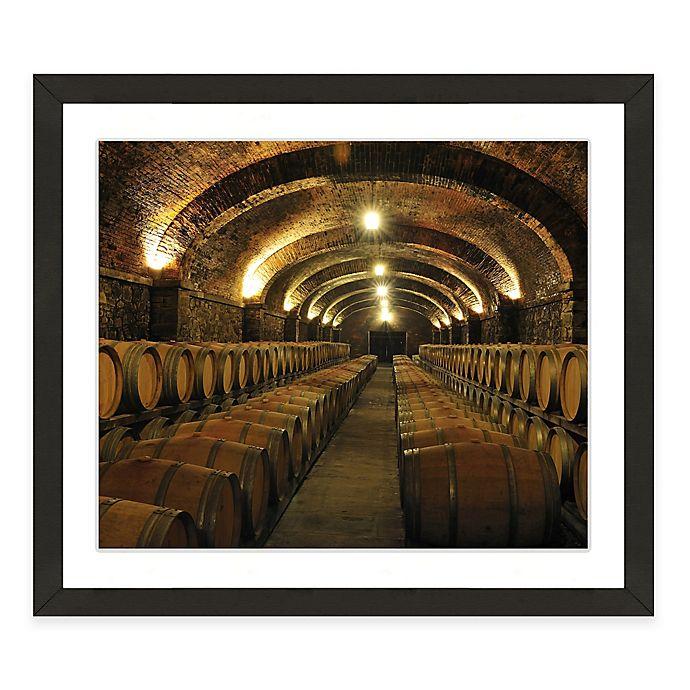 Alternate image 1 for Framed Giclée Winery Print II Wall Art