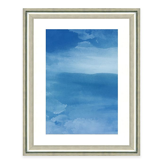 Alternate image 1 for Deep Sky Watercolor II Framed Art Print