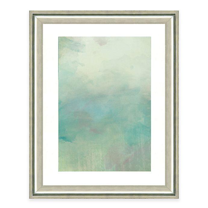 Alternate image 1 for Light Blue Watercolor II Framed Art Print