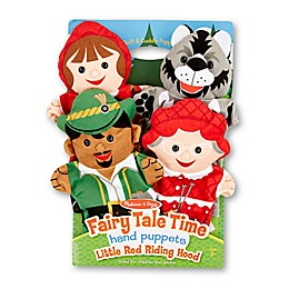 Melissa and Doug® Fairy Tale Time Hand Puppets (Set of 4)