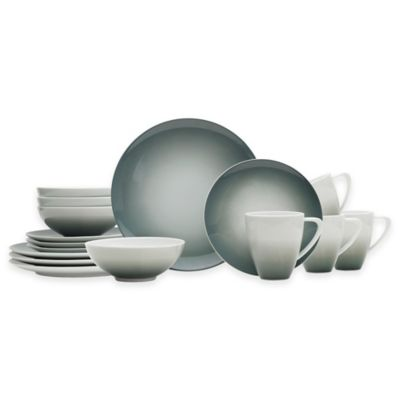 Mikasa® Naya Dinnerware Collection In Grey Ombré by Bed Bath And Beyond