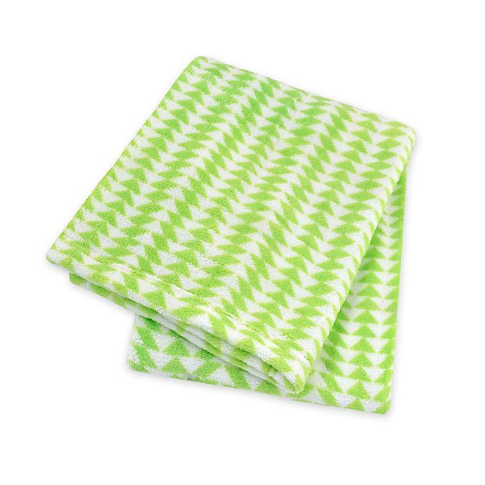 Alternate image 1 for Territory® Modern Fleece Pet Blanket in Green