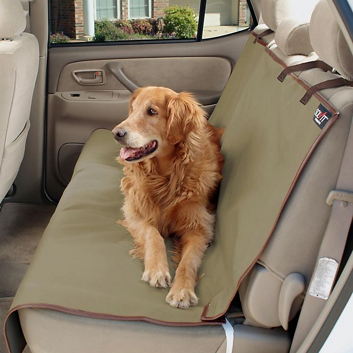 Alternate image 1 for Solvit®  Extra Wide Waterproof Pet Bench Seat Cover