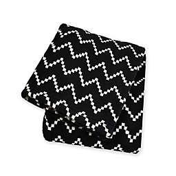 Territory® Modern Polyester Pet Blanket in Black