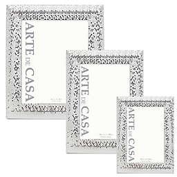 Arte de Casa Silver Sequins Frame