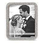 Arte De Casa Crystal 8-Inch x 10-Inch Picture Frame in Silver