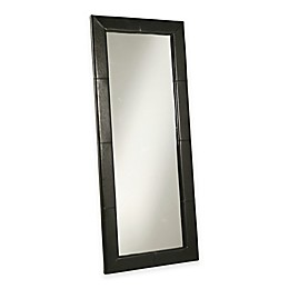 Abbyson Living® 30-Inch x 70-Inch Delano Leather Floor Mirror