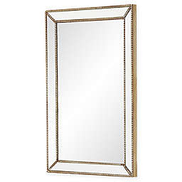 Abbyson Living® Cosmo Rectangular Wall Mirror in Silver/Gold