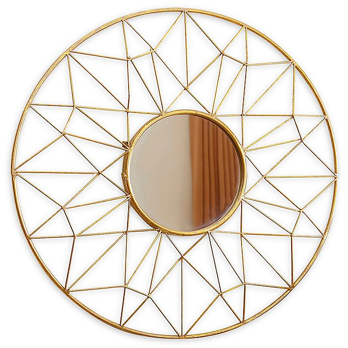 Alternate image 1 for Abbyson Living® 31.5-Inch Marie Mirror in Gold