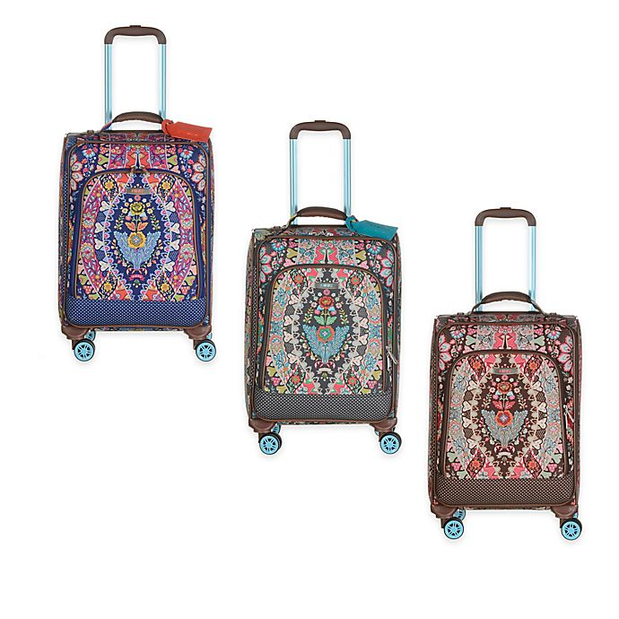 Oilily® Travel Expandable 21-Inch Softshell Carry On Trolley   Bed ... b2726d7e64