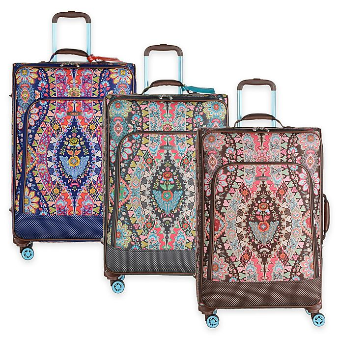 Oilily® Travel Expandable 30-Inch Softshell Trolley Suitcase   Bed ... e6e5c1f251