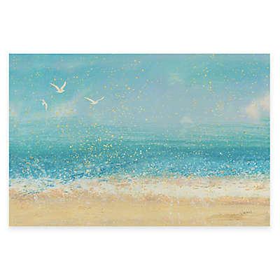 Splatter Beach I Wall Art