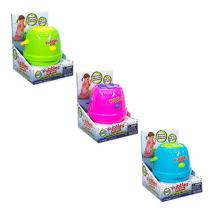 Alternate image 1 for Little Kids® Fubbles™ No-Spill® Bubble Machine