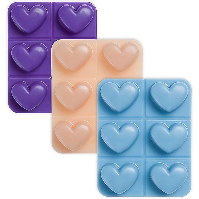 9f88dc3d30db Joy Mangano Forever Fragrant® Heart Wax Melts (Set of 6)