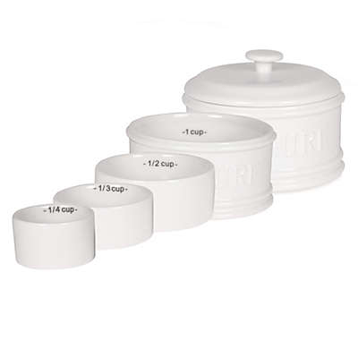 Everyday White® Bistro White 5-Piece Nested Measuring Cup Set
