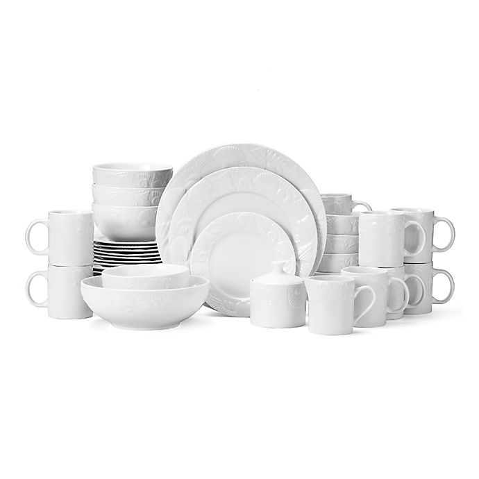 Alternate image 1 for Pfaltzgraff® Lido Beach 37-Piece Dinnerware Set
