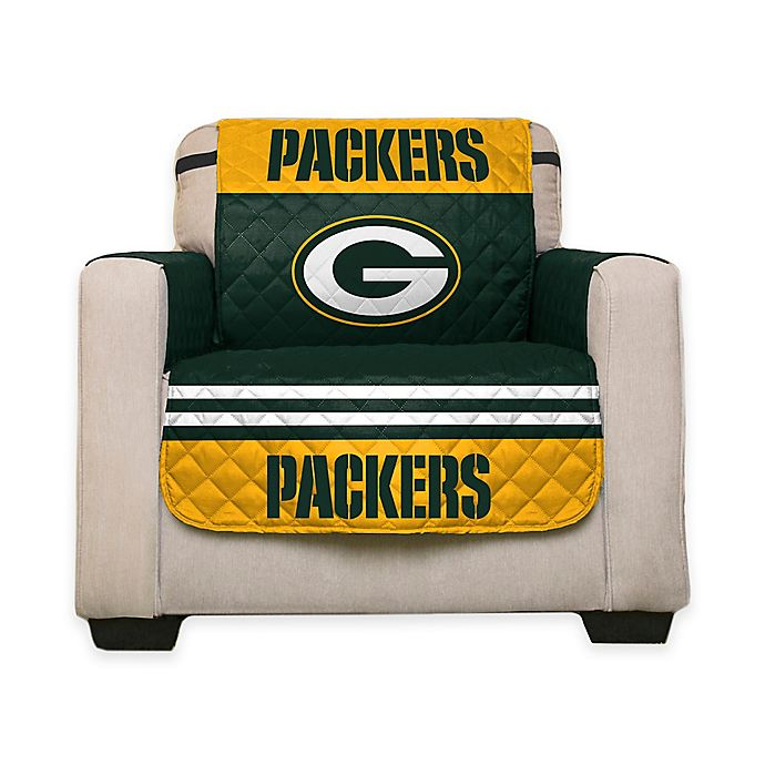 Nfl Green Bay Packers Chair Cover Bed