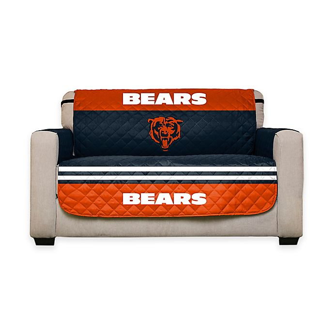 Nfl Chicago Bears Love Seat Cover Bed, Chicago Bears Furniture