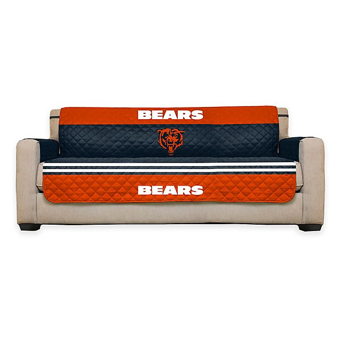 Prime Nfl Chicago Bears Sofa Cover Bed Bath Beyond Ocoug Best Dining Table And Chair Ideas Images Ocougorg