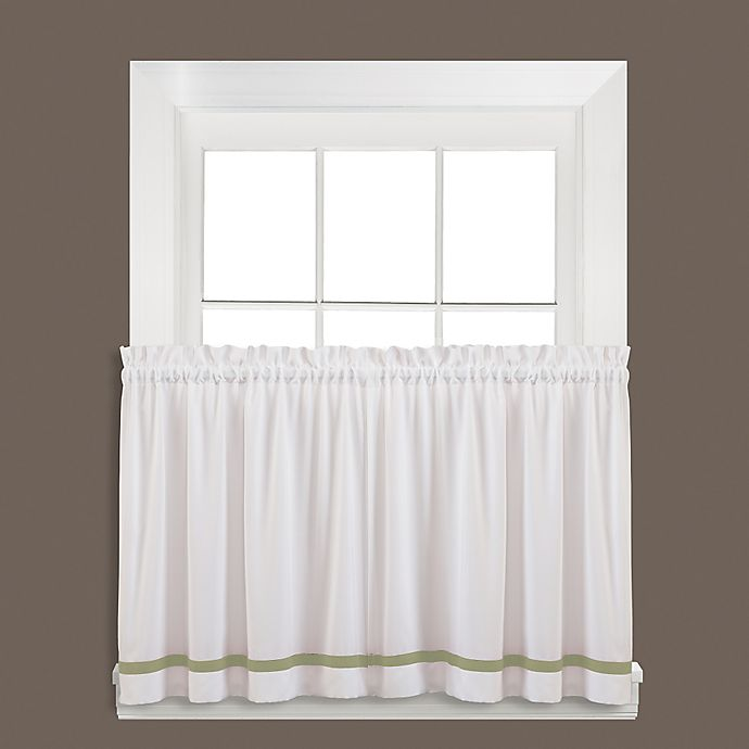 Alternate image 1 for Kate 24-Inch Window Curtain Tier Pair in Sage