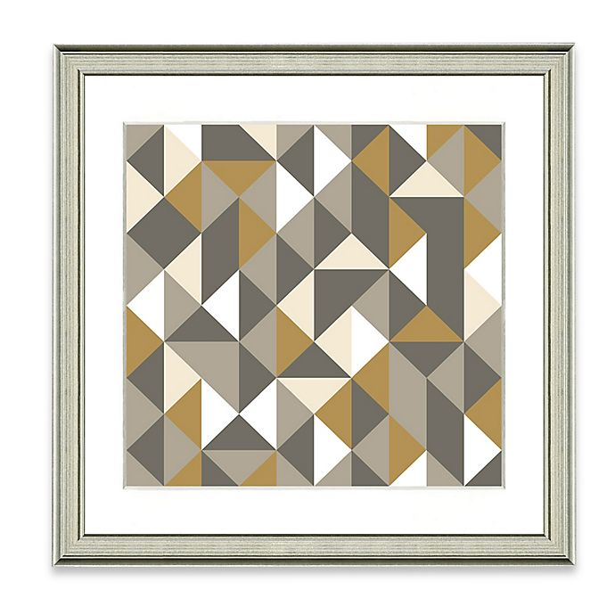 Alternate image 1 for Neutral Geometric IV Framed Art Print